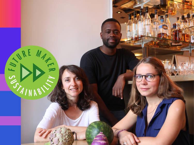 Fanny Giansetto, Camille Delamar + Rodney Paul: The Parisian eco food critics outflanking the Michelin men