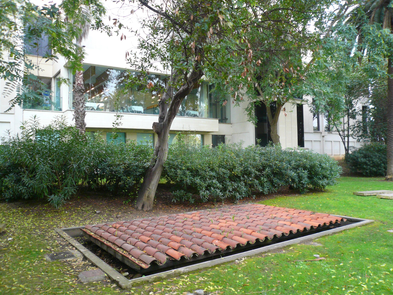 Teulada (Perejaume), Jardí de les escultures, Fundació Miró