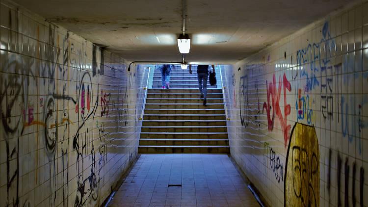 Passadís de metro sinistre
