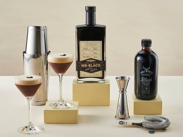 Ultimate Espresso Martini kit from Mr Black, $169
