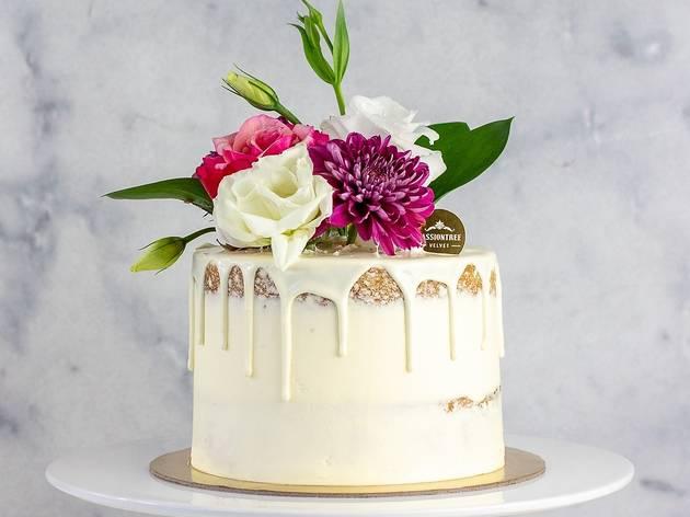 Passiontree Velvet Mother's Day Cherry Bloom Cake