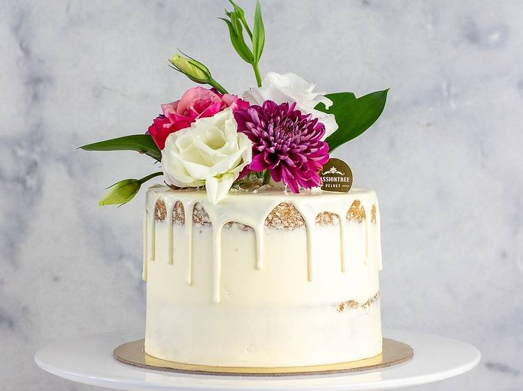 Passiontree Velvet Mother's Day Berry Bloom Cake, $75
