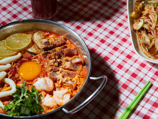 Nana Thai tom yum noodles (Photograph: Ben Moynihan)