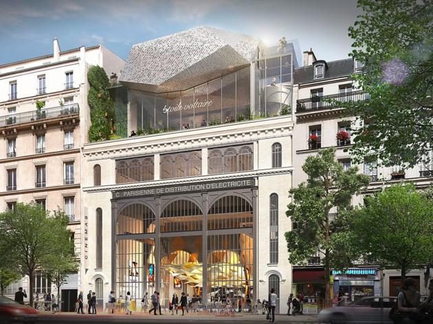 © « Réinventer Paris » – O.Palatre Architects, Etoile Cinemas, SRF – Paris