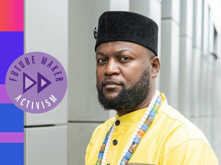 Mwazulu Diyabanza: The Congolese activist stealing back African artefacts