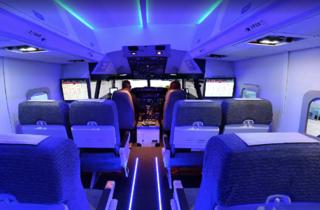 Simulador del Boeing 737 de l'Aeroteca