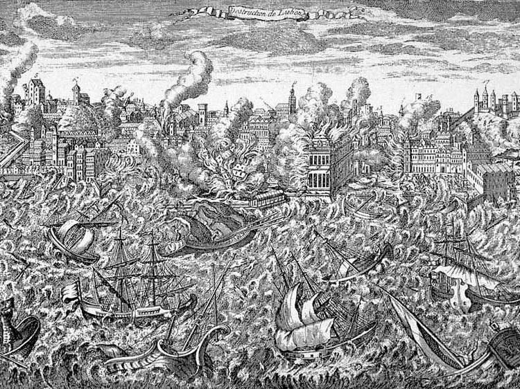 O grande sismo de 1755