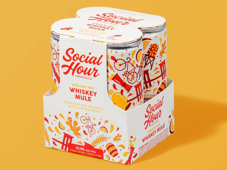 Social Hour Whiskey Mule