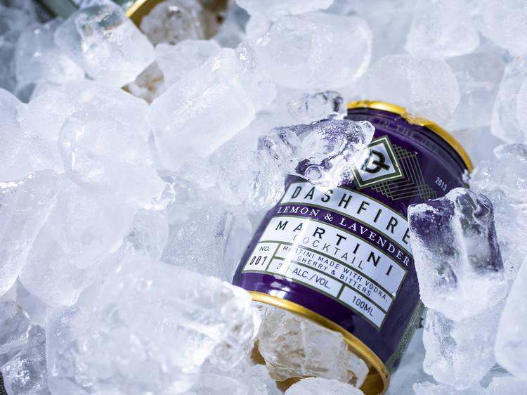Dashfire Lemon & Lavender Martini