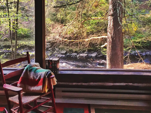 Pine Rock - Rustic Cabin, barryville, ny airbnb