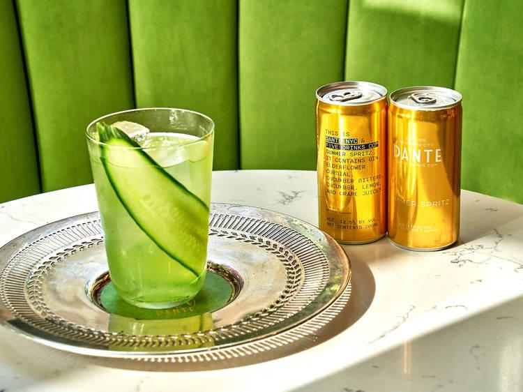 Dante x Five Drinks Co. Summer Spritz