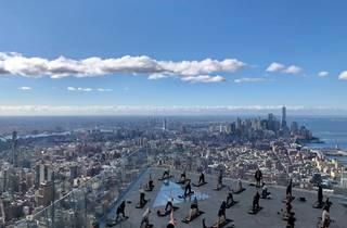 Edge sky-high yoga