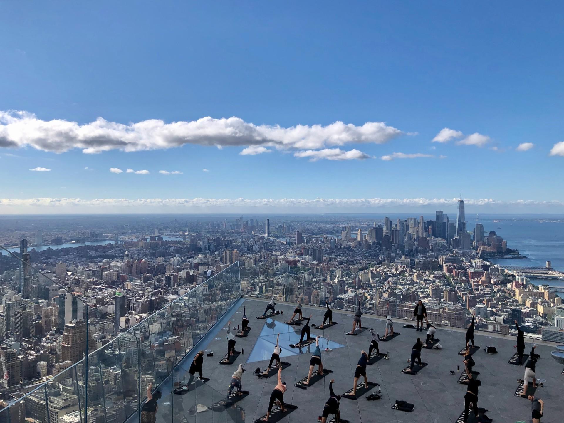 Sky-High Yoga at Edge