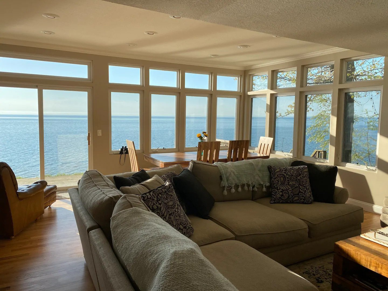 Lakefront Airbnb rental