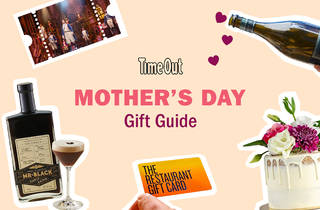 A composite image of Mother's Day gifts