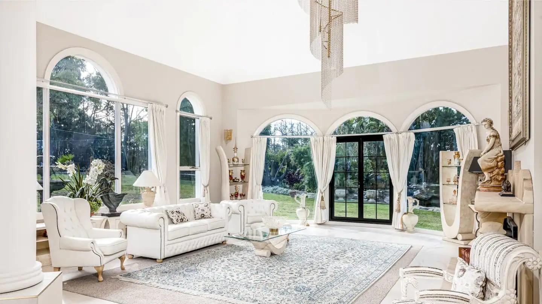 White furniture, tacky
