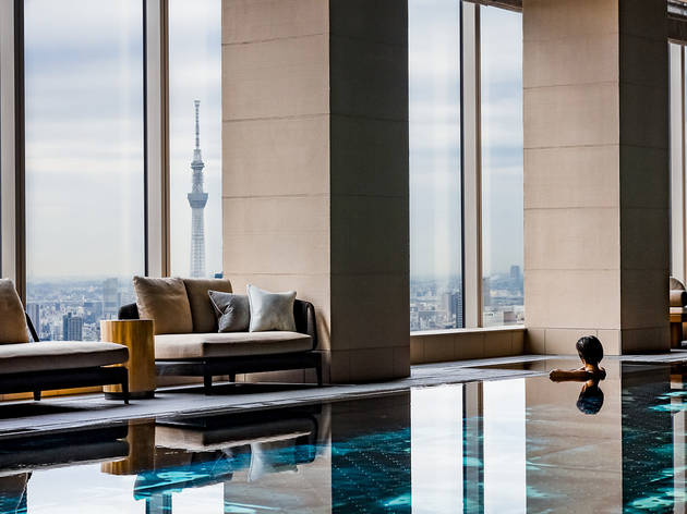 Four Seasons Hotel Tokyo at Otemachi pool