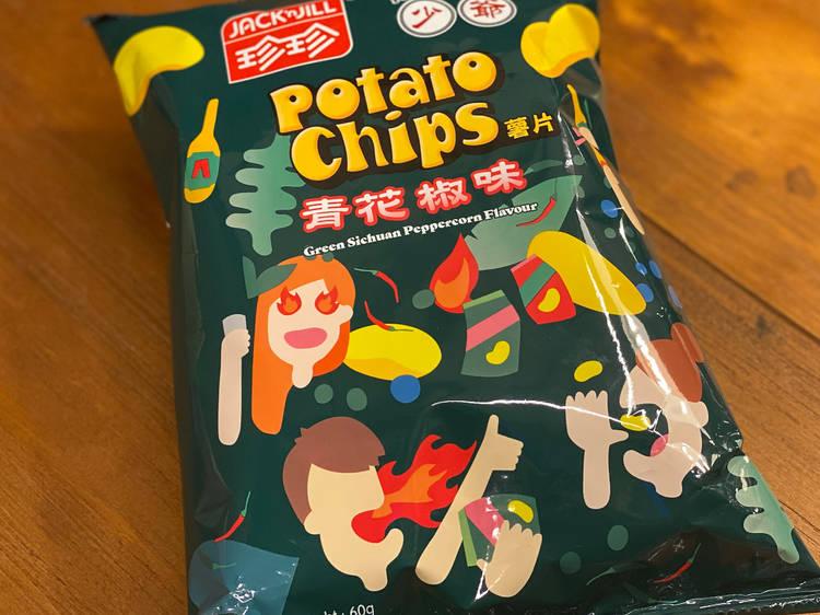 Green Sichuan peppercorn