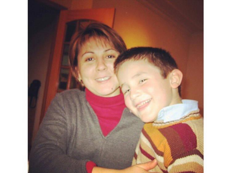 Mãe – Cristina, Filho – José Paulo (Velho Eurico)