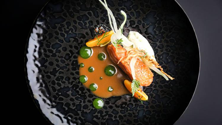 Ever salmon dish