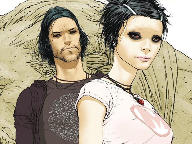 Ilustración de personajes del cómic Jupiter's Legacy