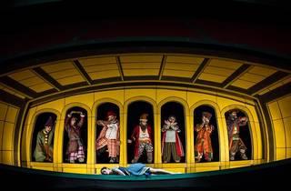 Bailarines de ballet de Blancanieves