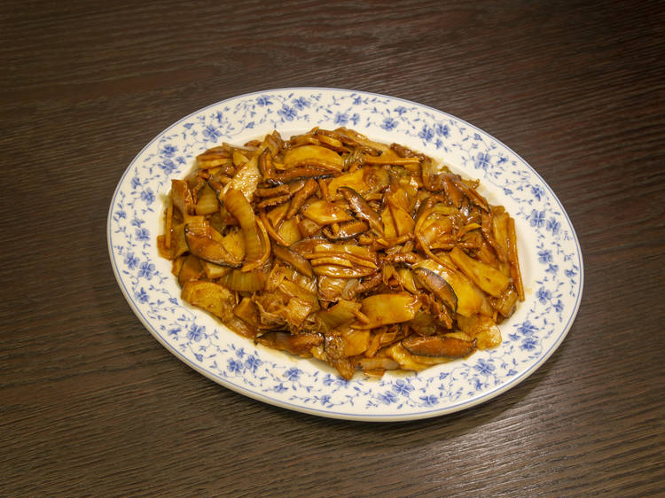 Shanghainese rice cake by Tiffany Lo of Jean May