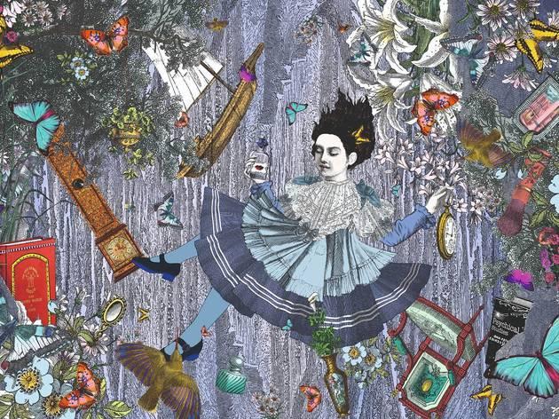 Down the Rabbit Hole (c) Kristjana S. Williams
