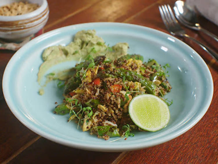 Food Ticket: cooking with quinoa