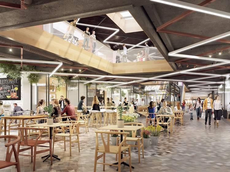 Food Society : le plus grand food hall d'Europe à Montparnasse !