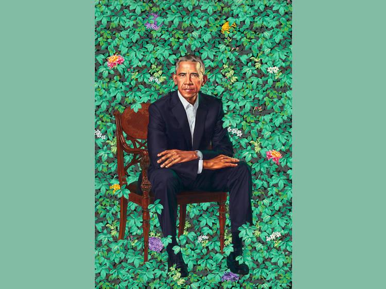 """The Obama Portraits"""