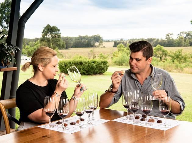Chocolate and Wine Pairing at Glandore Estate Wines