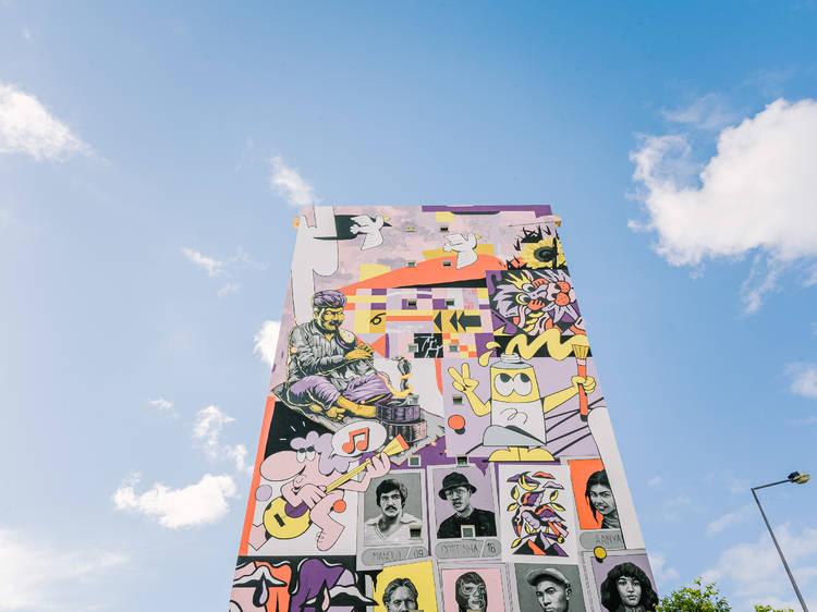 Um muro sem fronteiras leva a arte urbana ao Parque das Nações