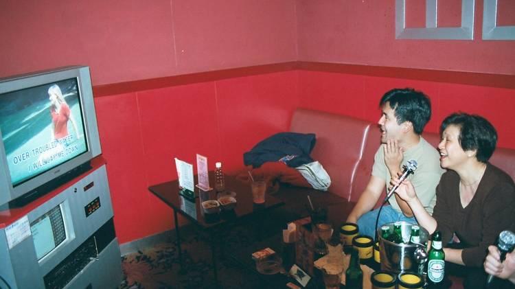 red BOX  karaoke 2001