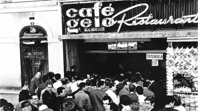 Pátio das Antigas, Lisboa Antiga, Café Gelo