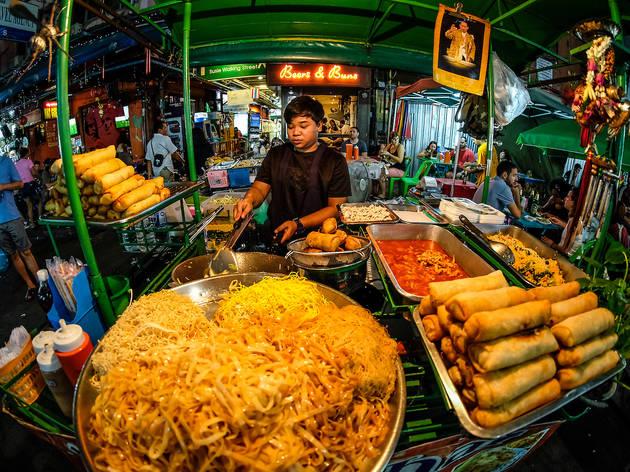 Hawkers in Bangkok