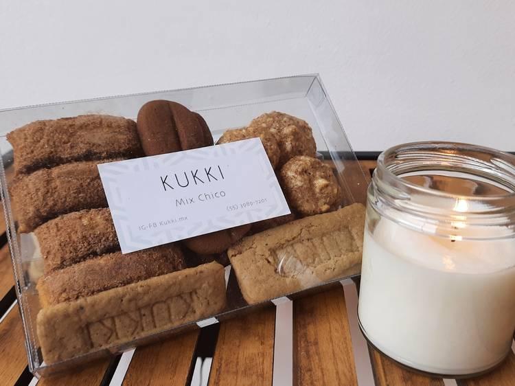 Kit de galletas con velas (Kukki)