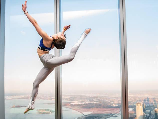 One World Observatory yoga