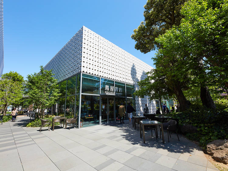 Spend the day in a bookstore at Daikanyama T-Site