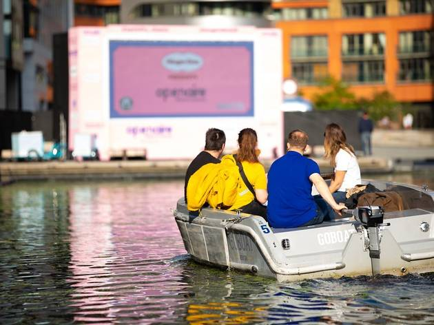 Ahoy! Floating cinema is coming to London in June