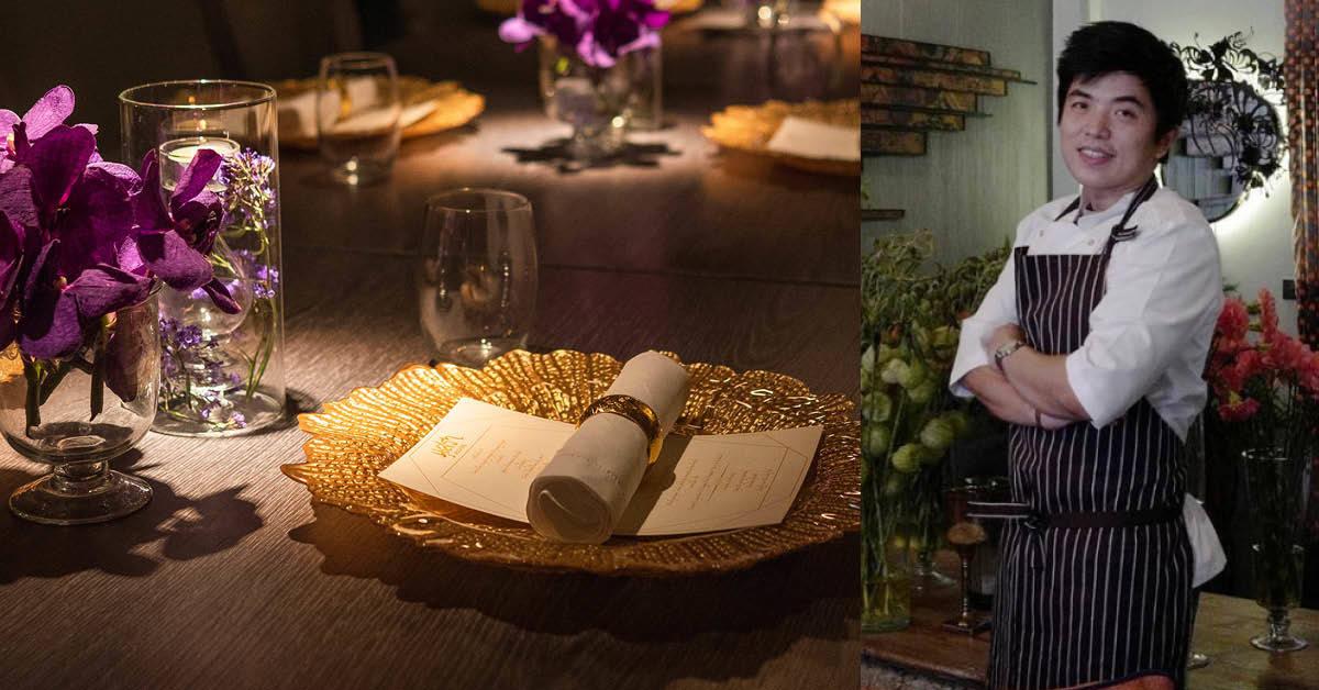 เชฟต้น-ธิติฏฐ์ ยกครัวลงใต้ เปิด chef's table ที่ภูเก็ต หาทางออกให้ไฟน์ไดนิ่งช่วงงดกินข้าวในร้าน
