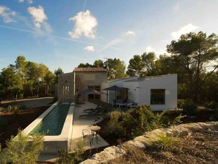 Rodeada de hectáreas de naturaleza en Sant Pere de Ribes, Sitges