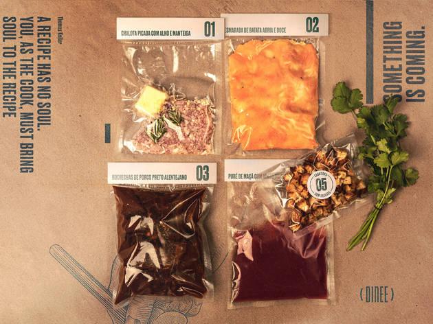 Dinee: esta comida de chefs vem com instruções para ser finalizada em casa