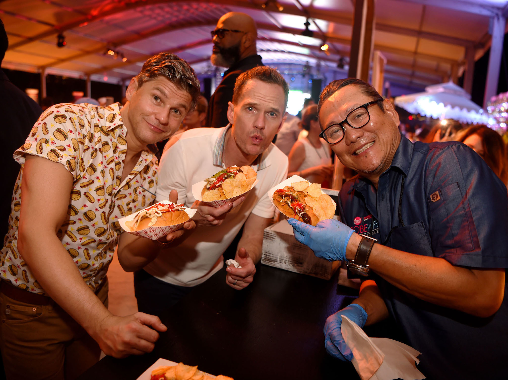 Heineken Light Burger Bash presented by Schweid & Sons® hosted by David Burtka & Neil Patrick Harris - 2019 Food Network & Cooking Channel South Beach Wine & Food Festival at Marriott Bonvoy™ North VenueBeachside at The Ritz-Carlton, South Beach on Fe