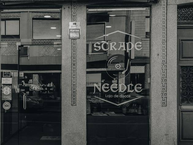 Scrape Needle