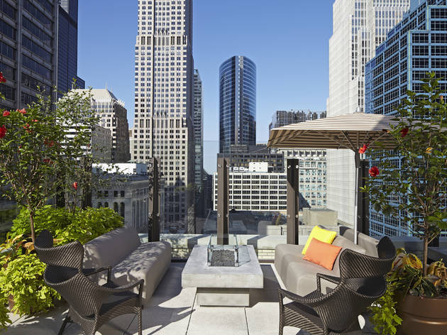 Aire rooftop at Hyatt Centric