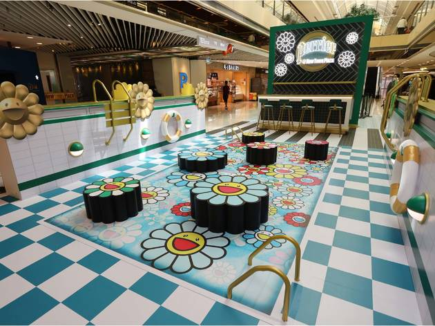 perrier x takashi murakami New Town Plaza