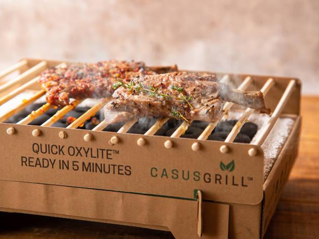 北欧発のクラフトグリルとラム肉のコラボレーション商品が発売