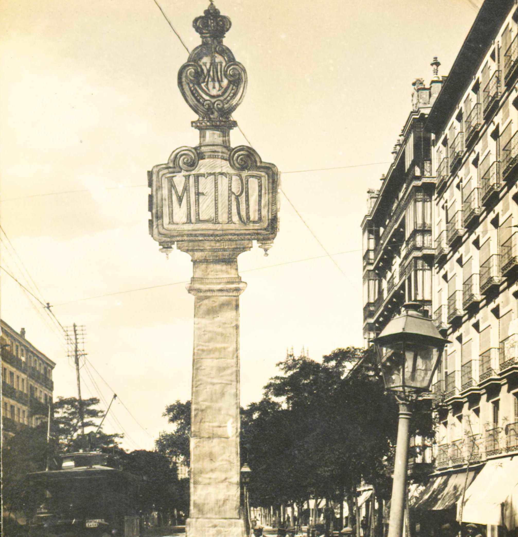 La estación de Cuatro Caminos recuperará su histórico tótem de 1919