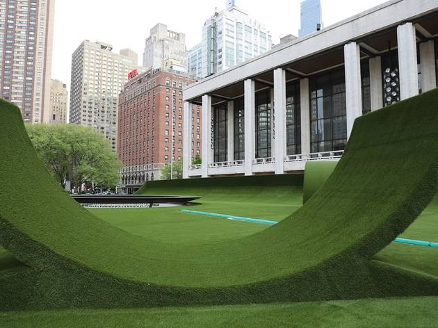 A first look at the giant outdoor performing arts park opening at Lincoln Center